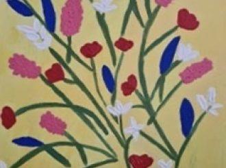 Summer Bouquet, Yellow, by Julienne Birch