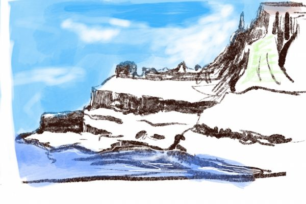 Portrush Walk & Sketch