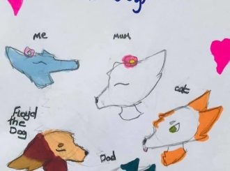The Welsh Family drawn by Lola