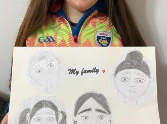 The Duddy-Allen Family drawn by Samantha