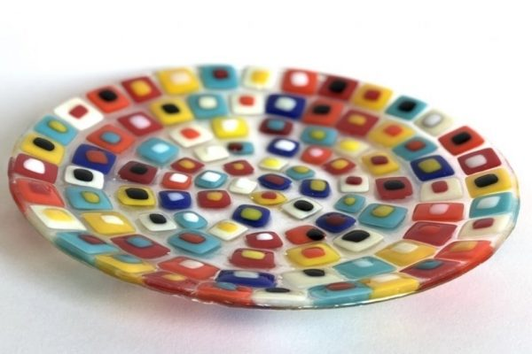 Design and Make your own Fused Glass Plate