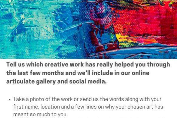 Share your love of art & creativity by taking part in Articulate
