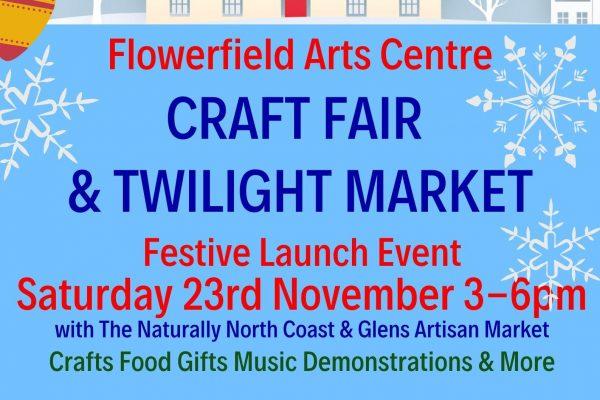 Fabulous Flowerfield Christmas Fair & Artisan Market              Big  Launch Event
