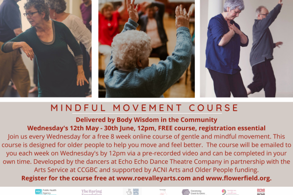 New Free Online Mindful Movement Course