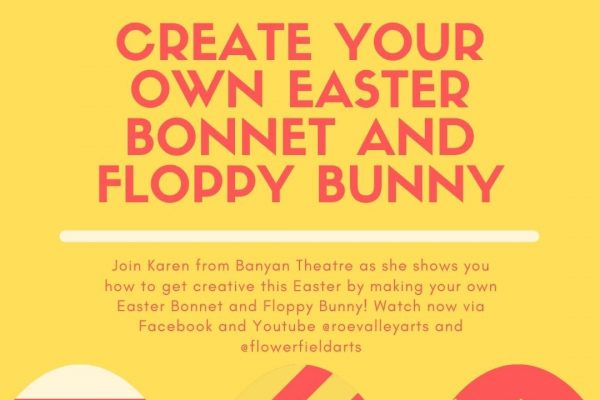Make your own Easter Bonnet and Floppy Bunny