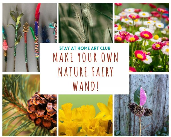 Day 25 - Make your own Nature Fairy Wand!