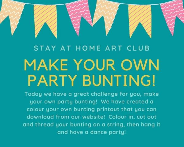 Day 27 - Make your Own Party Bunting!