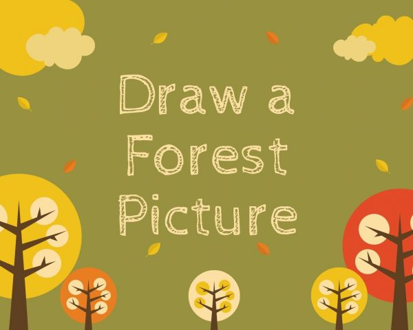 Day 38 - Draw a Forest Picture