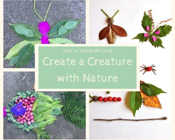 Day 39 - Create a Creature with Nature!