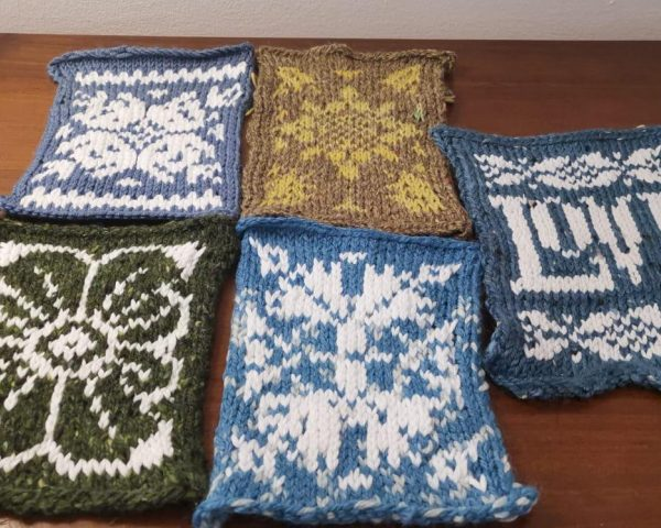 Week 1 - Knit your own Isolation Quilt