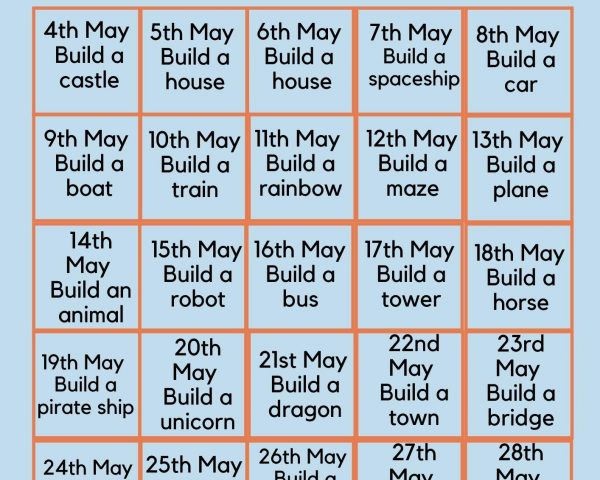 Day 26 - Join our May Lego Challenge!