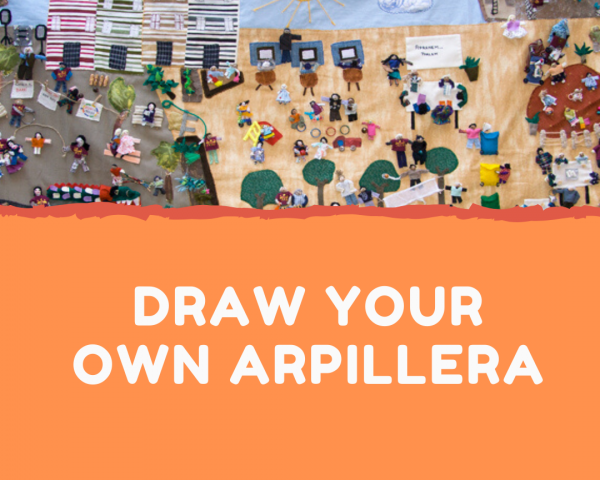 Draw your own Arpillera!