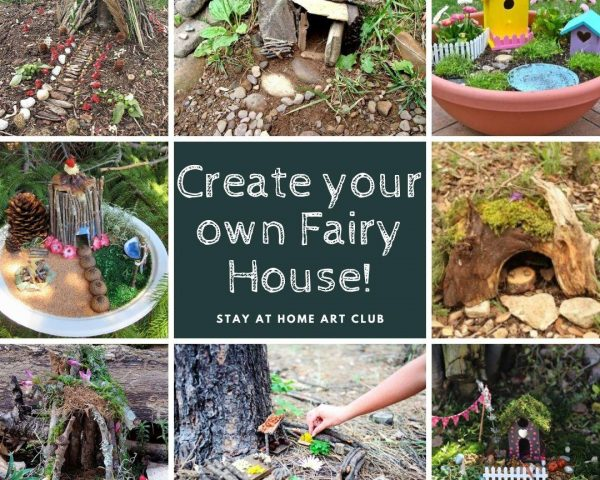 Weekend Challenge - Create your own Fairy House!