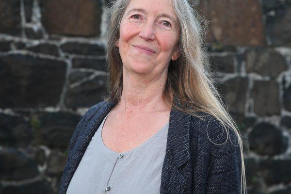 Poet Laureate Kate Newmann presents dedicated poem to Ballycastle