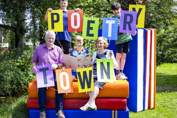 Ballycastle is a Poetry Town this September!